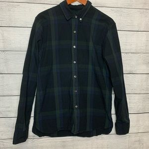[Levi's] Men's Plaid Long Sleeve Green/Blue
